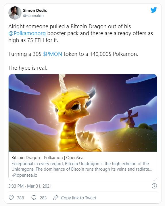 polkamon bitcoin dragon