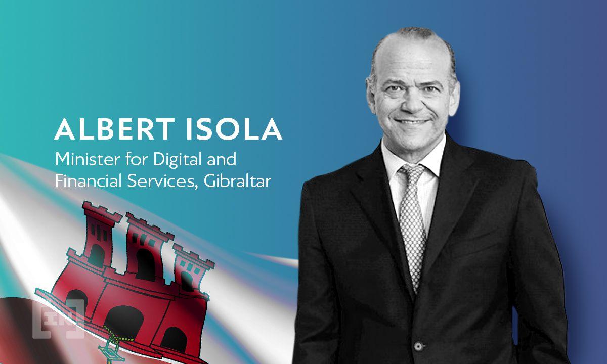 Las lecciones de Gibraltar sobre la regulación de las criptomonedas con el Ministro Albert Isola